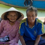 Wish You Were Here Postcards – Local Boat Man & His Wife, Hoi An, Vietnam