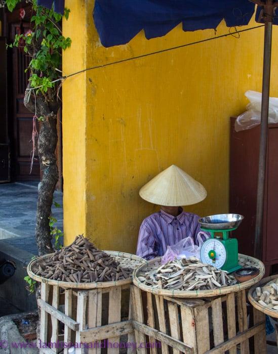 Local trader, Hoi An, Vietnam