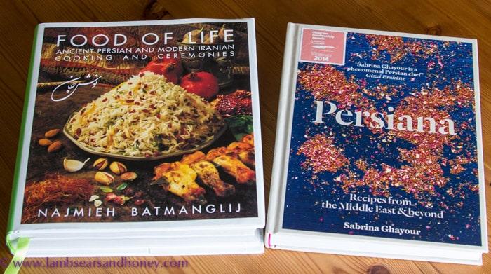 New cookbooks - Food of Life & Persiana