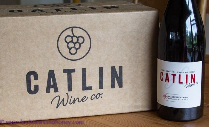 Wine! Catlin's award-winning Montepulciano