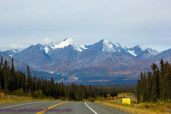 On the road, Yukon Territory.