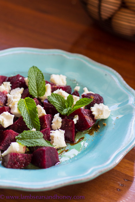 Middle Eastern Beetroot & Feta Salad