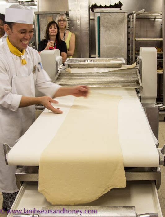 ... take the grunt out of rolling dough for breads & pastries.
