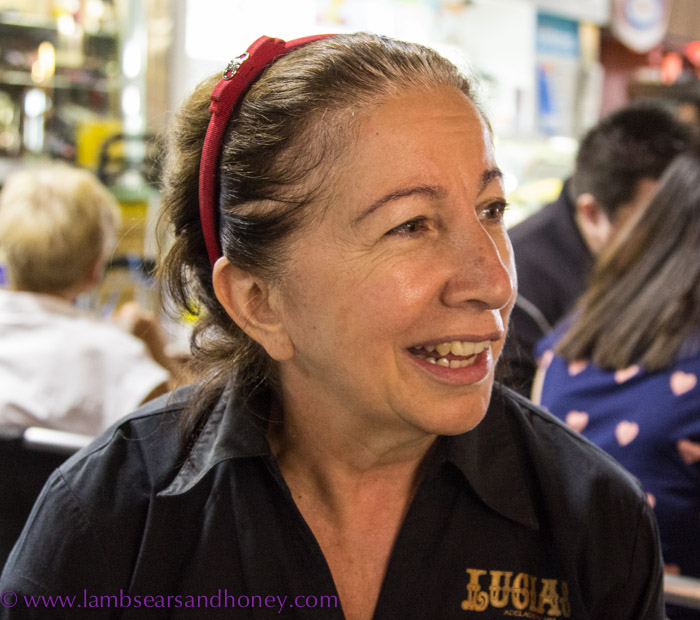 Central Market Tours - Lucia's daughter, Nicki