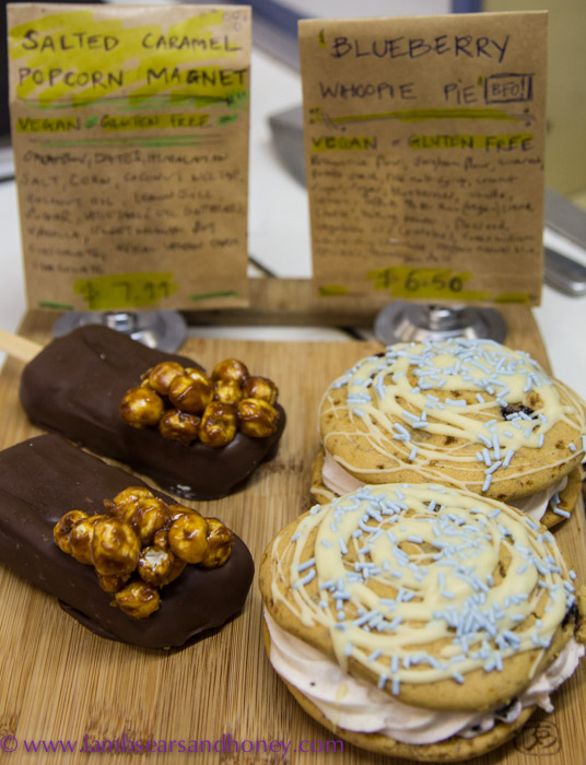 Central Market Tours - more of Maple's wickedly tempting 'everything-free' treats at the House of Health.