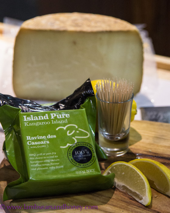 Central Market Tours - fabulous Island Pure sheep milk cheeses at Proudly Kangaroo Island.
