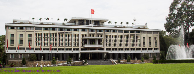 Independence Palace, Ho Chi Minh city - Lambs' Ears and Honey | A Food & Travel Blog