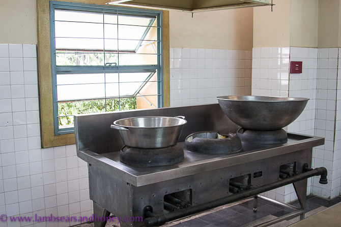 Kitchen - Independence Palace, Ho Chi Minh City