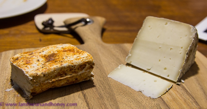 Woodside Cheese Wrights Bush Buff and the as-yet-unchristened raw buffalo cheese.