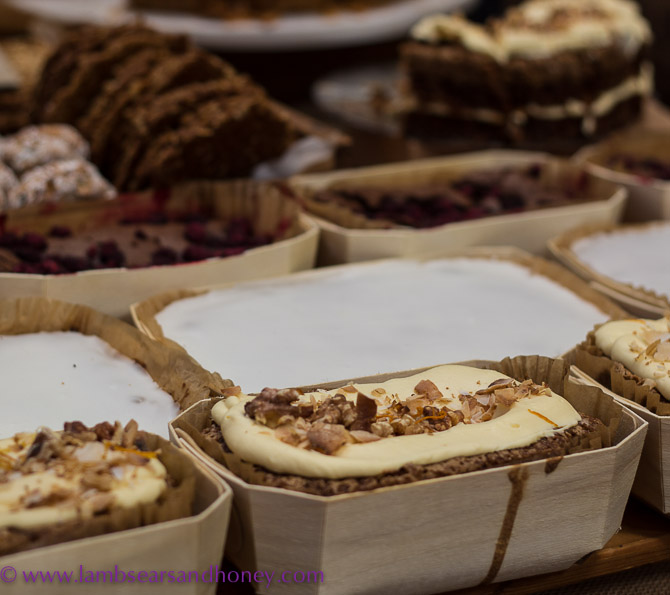 More wonderful things of butter and sugar from Flour and Stone - Eveleigh Farmers Market.