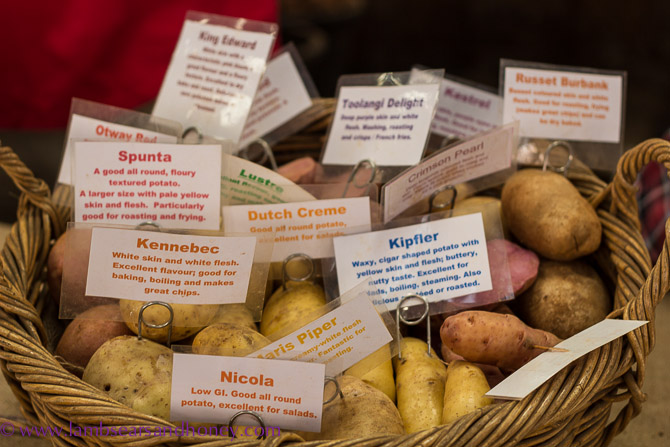 No such thing as too many spuds! Potatoes - Eveleigh Farmers Market