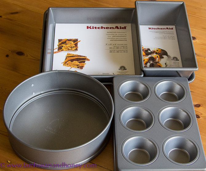 KitchenAid's new range of bakeware - In My Kitchen July 2015