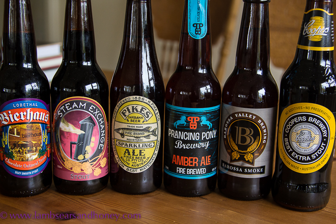 Local Adelaide brews featuring at the first Adelaide Beer & BBQ Festival - In My Kitchen July 2015