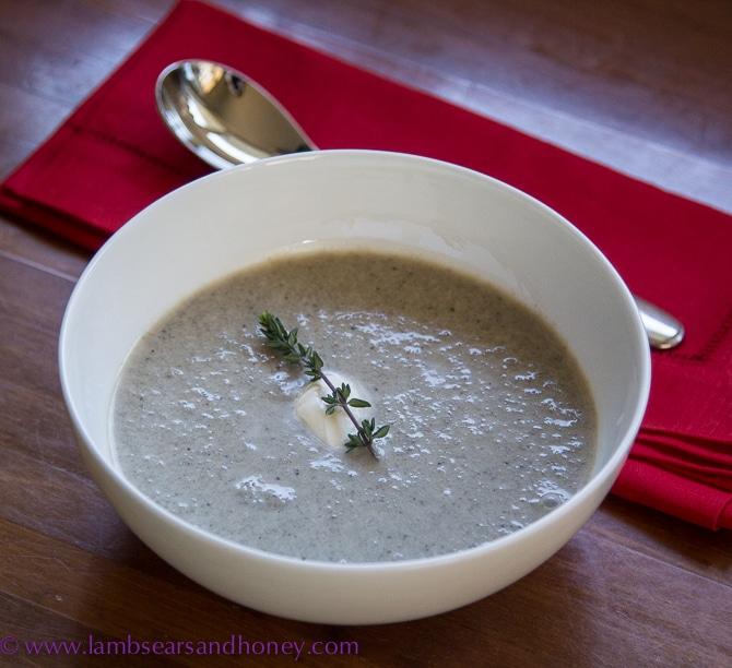 Just Mushroom Soup
