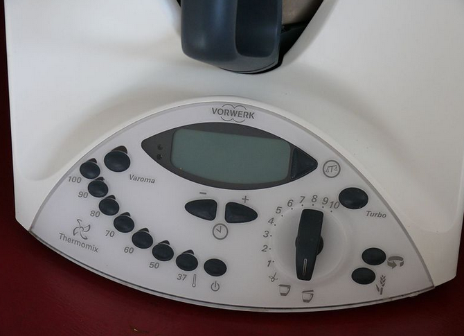 Thermomix controls