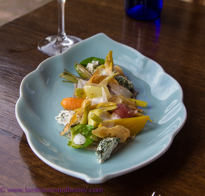 Salad, Ellen Street, Maxwell Wines