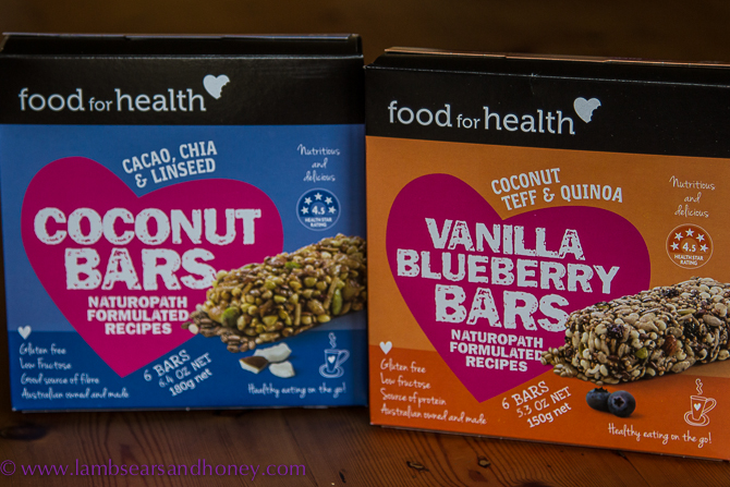Health bars from Food for Health In My Kitchen August 2015