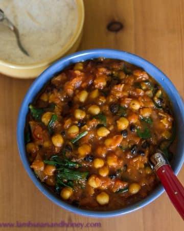 Moroccan Chickpea Tagine recipe