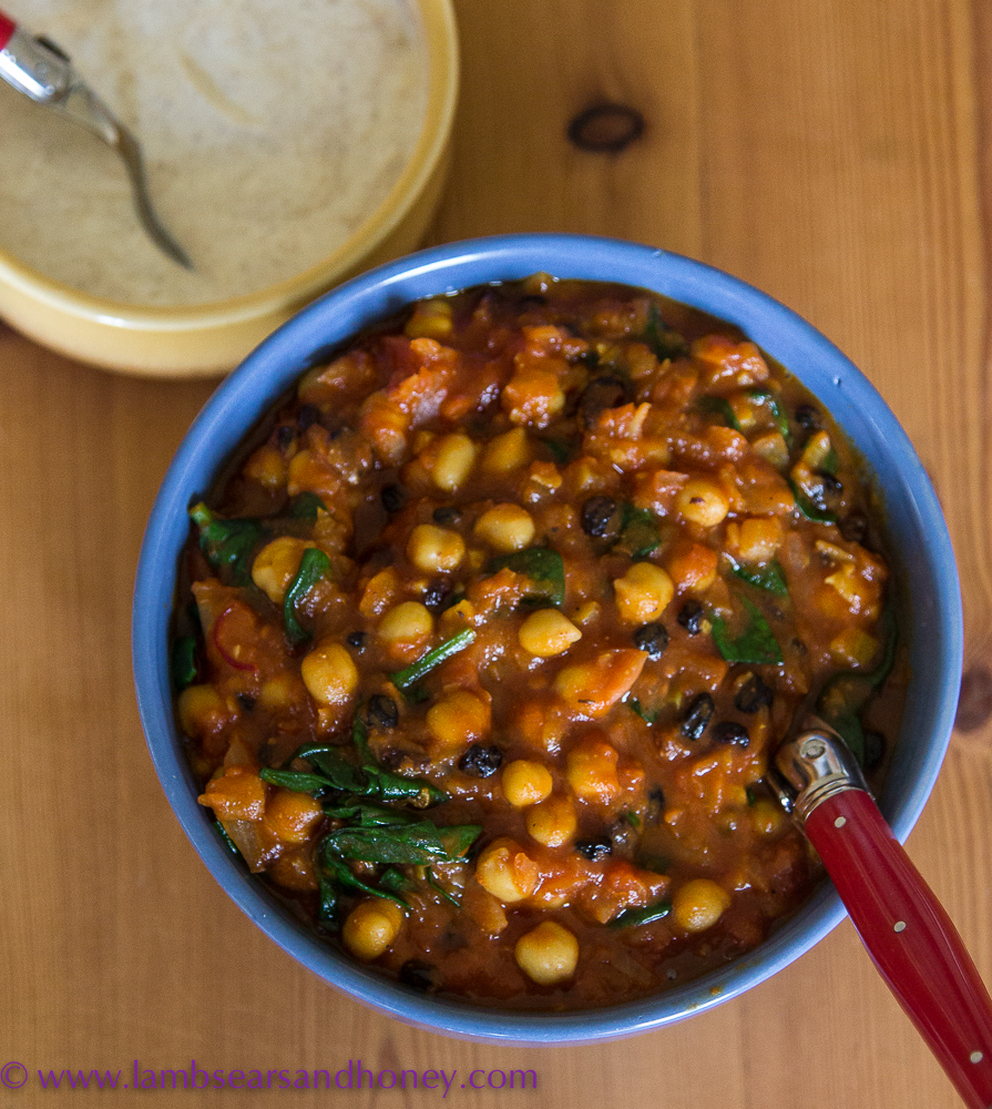 Moroccan Chickpea Tagine recipe