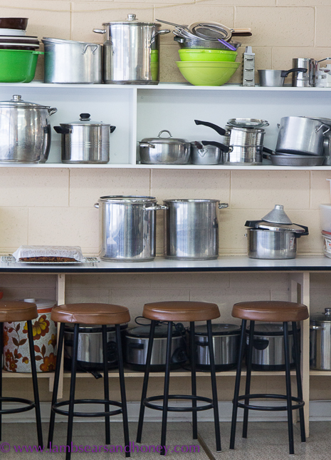 behind the scenes in the South Australian CWA Country Kitchen