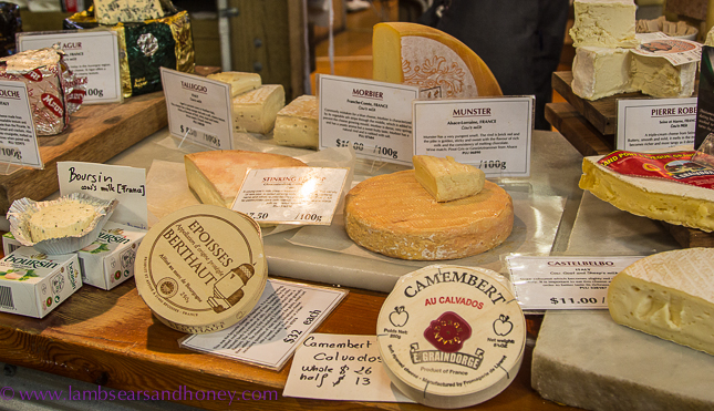 Cheese at La Cigale Auckland
