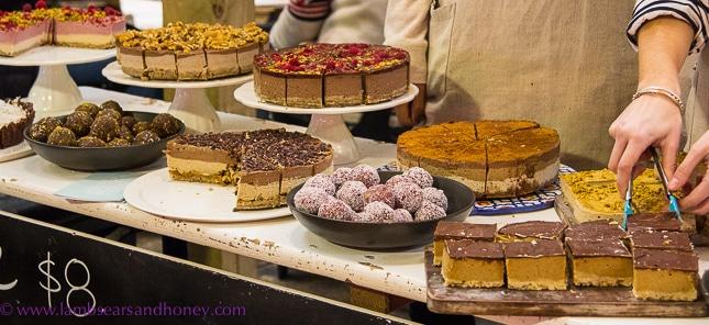 raw sweet treats, La Cigale Auckland