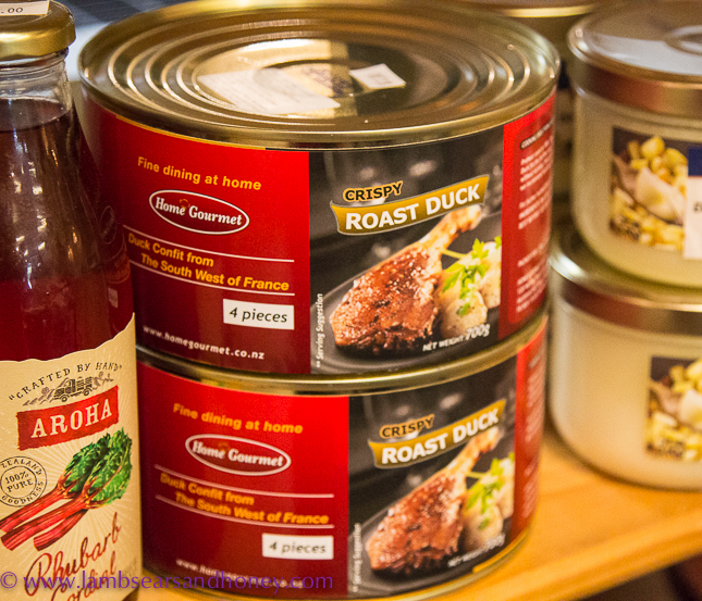 Canned food La Cigale Auckland