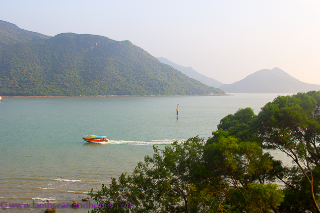 View from the Tai O Heritage Hotel