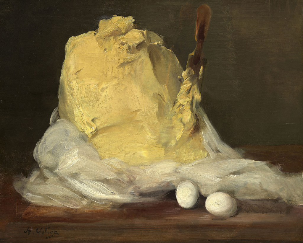 A Mound of Butter, A. Vollon