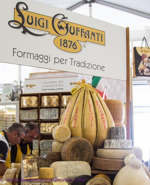 Cheese at Bra cheese fair