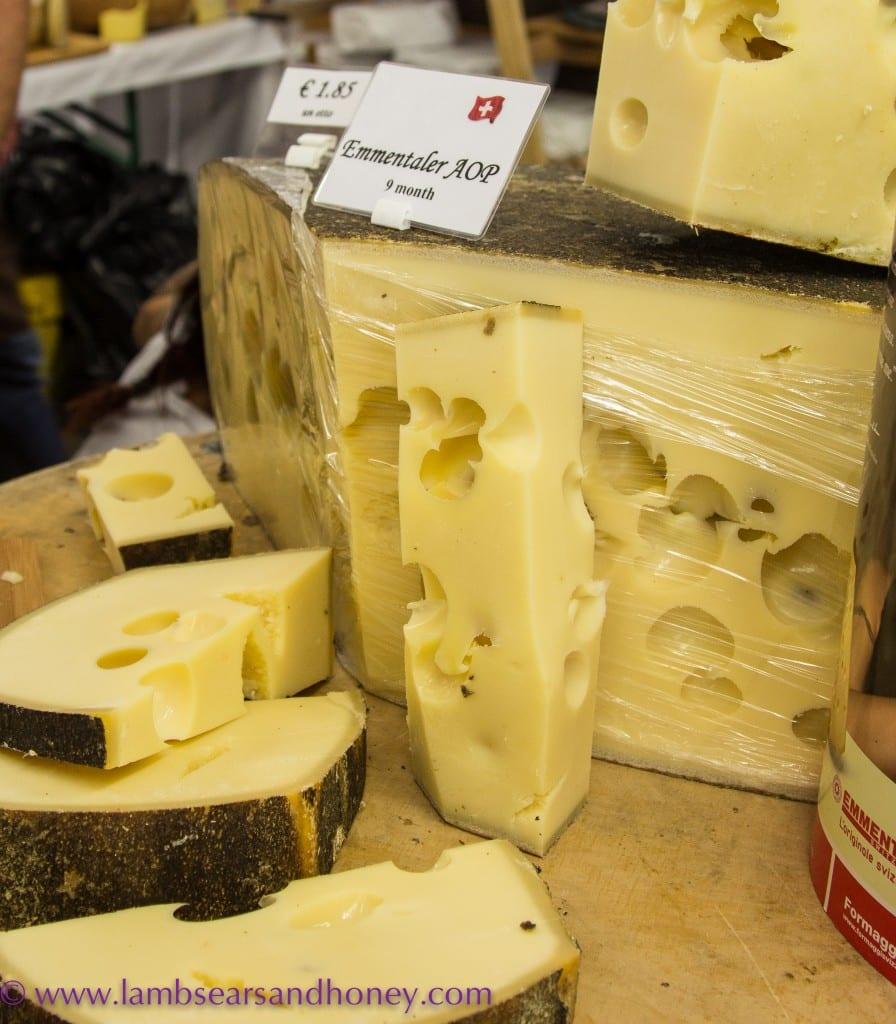 Bra cheese, Emmenthaler
