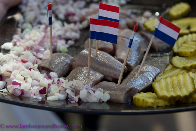 Eating Amsterdam's pickled herring