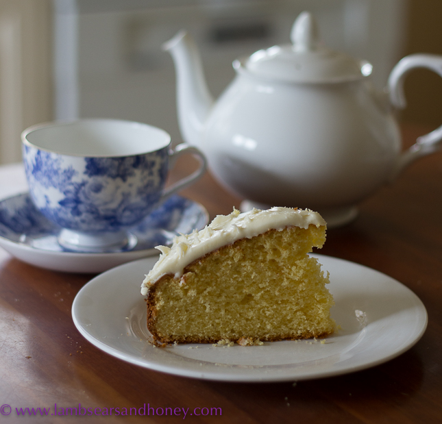 Recipe Ginger and Bourbon Butter Cake