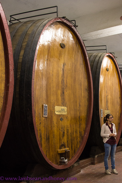 Marchesi di Barolo, oak barrels