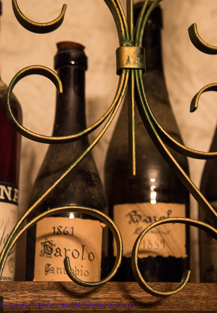 Pricelss bottles of historic Barolo
