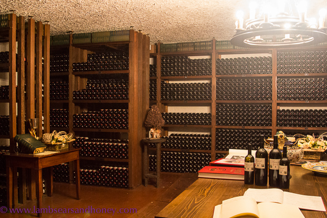 Marchesi di Barolo private cellar