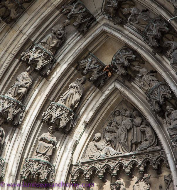 Cologne Cathedral outer detail