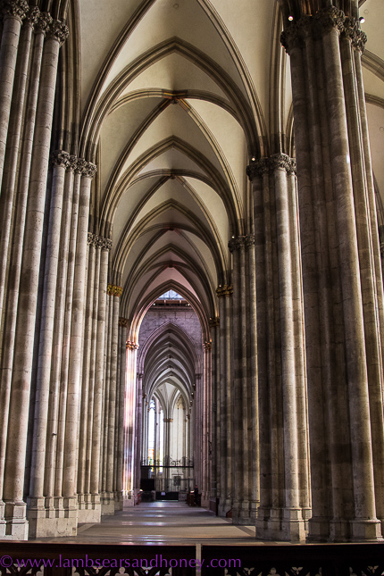 Cologne Cathedral aisle