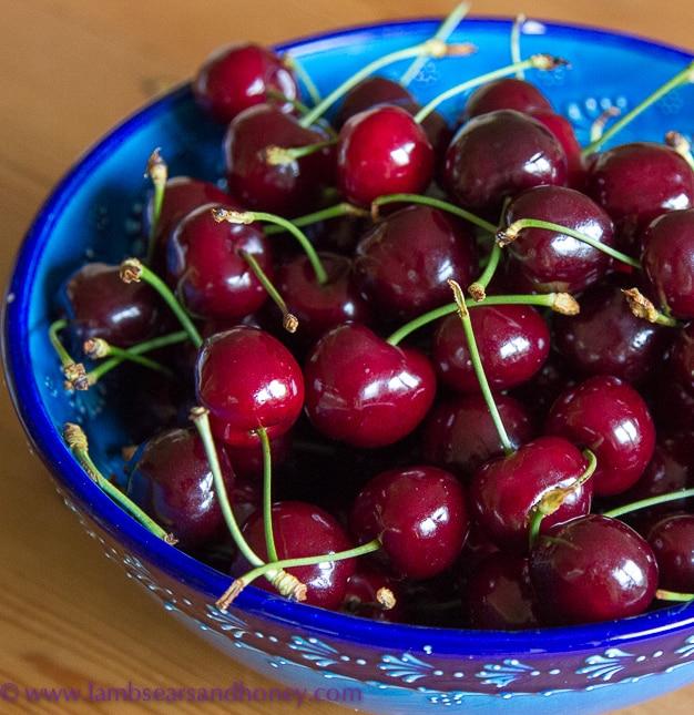 In My Kitchen cherries