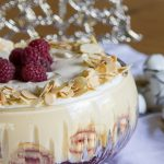 Christmas Treats – Raspberry & White Chocolate Trifle