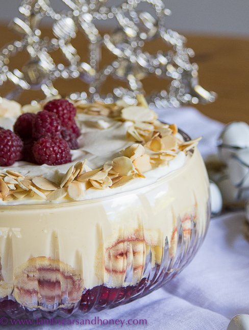 ... Raspberry & White Chocolate Trifle is a tribute to four very special