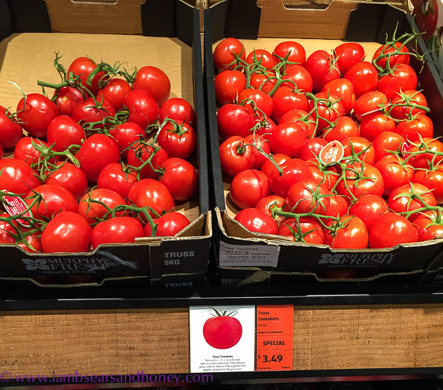 Aldi, fresh tomatoes