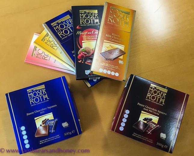 Aldi's Moser Roth chocolate, aldi