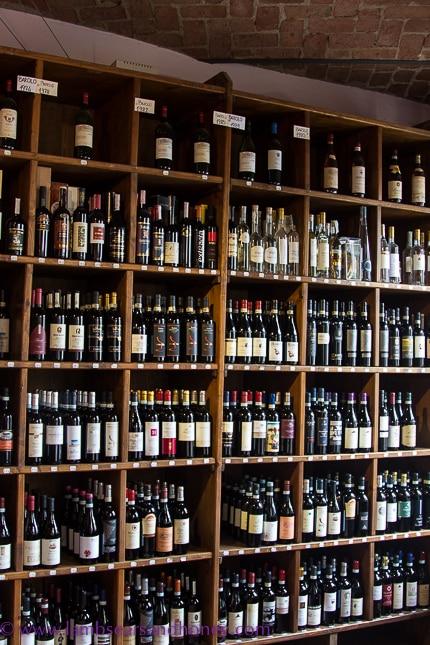 Wine at Cantina Communale di La Morra