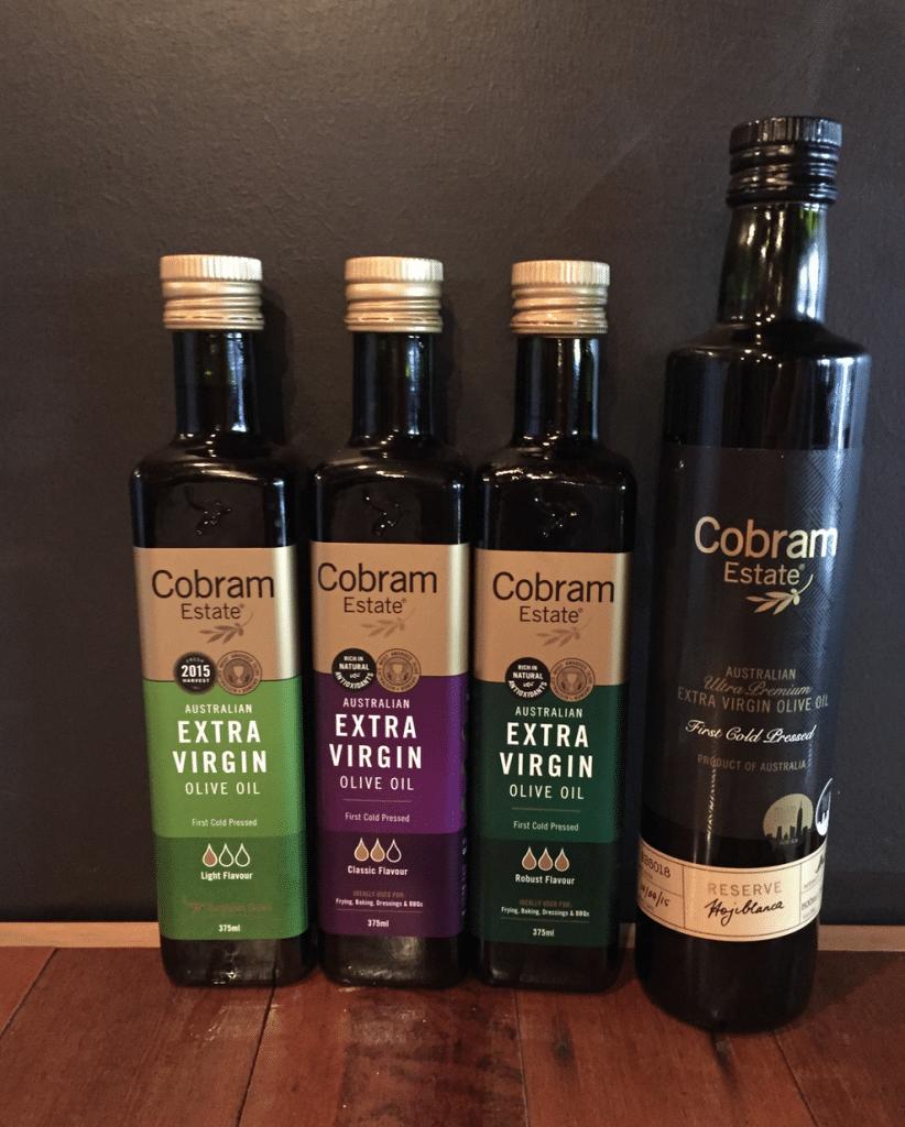 Olive oil from Cobram Estate