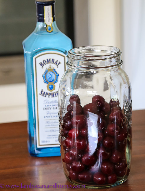 cherry liqueur with gin