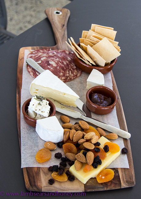 Crush Festival snack platter from ArtWine
