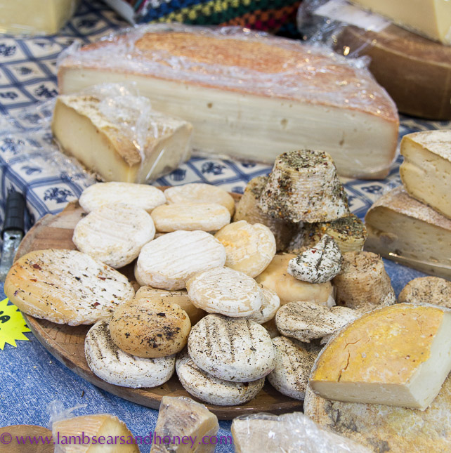Porta Palazzo market artisan cheese
