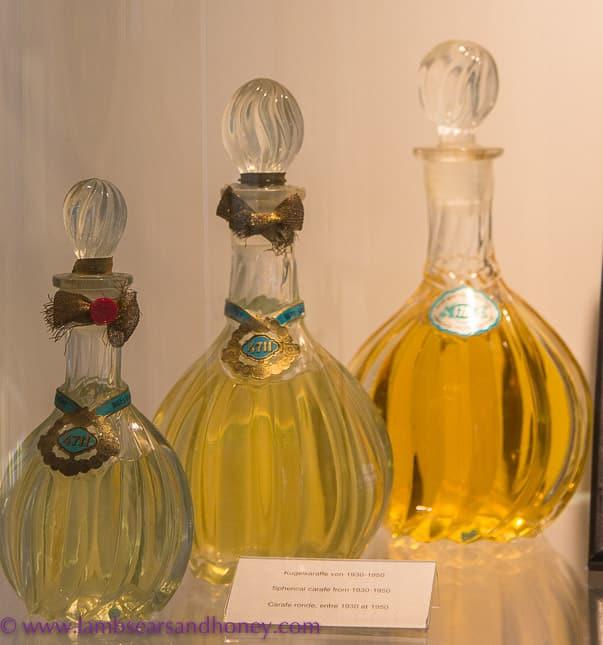 historic eau de cologne bottles 4711