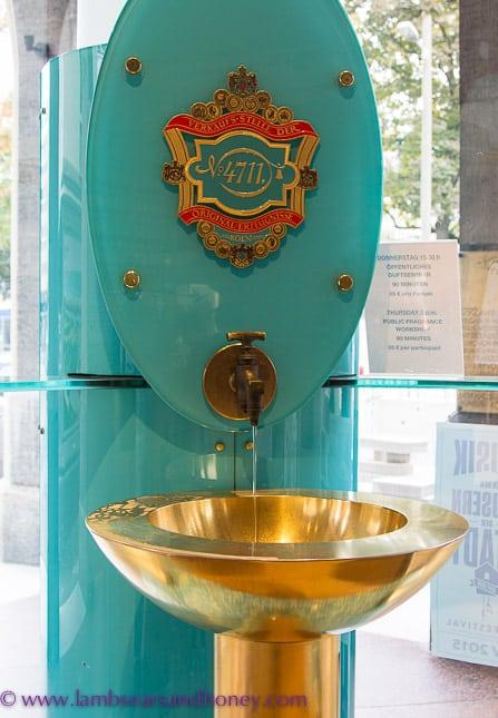 fountain of 4711 Eau de Cologne